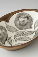 Laura Zindel Large Serving Dish Hedgehog #2