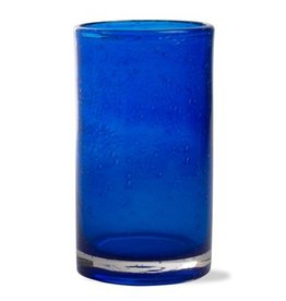 Tag Bubble Glass Tumbler Cobalt