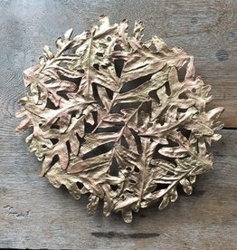 Table Art Oak Leaf Trivet