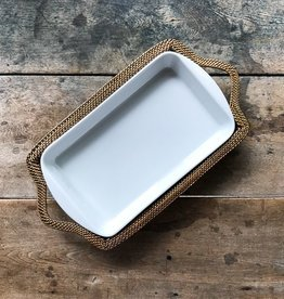 Calaisio Rectangular Baker with Basket