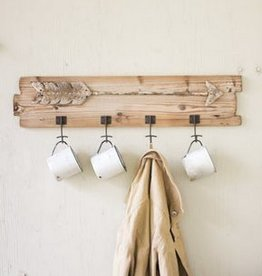Kalalou Wooden Coat Rack