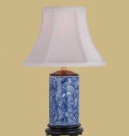East Enterprises Blue & White Lamp