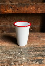 Crow Canyon Home Red Vintage Enamel Tumbler