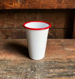 Crow Canyon Home Red Enamel Tumbler