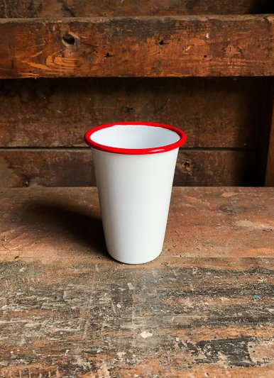 The Birch Store Red Vintage Enamel Tumbler