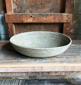 Swahili Imports Silver Bread Basket