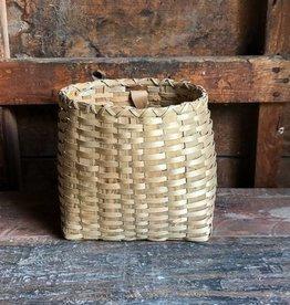 The Birch Store Handwoven Vintage Iroquois Basket