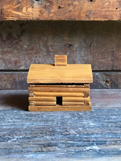 Paine Products Log Cabin Incense Burner