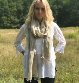 Dr. Flax Linen Scarf