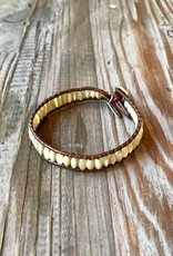 Altiplano Leather & Stone Bracelet