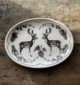 Laura Zindel Fallow Buck Small Platter