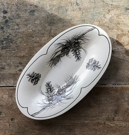 The Birch Store Pine Branch Serving Dish
