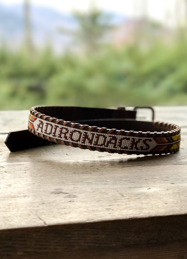 Camp Hero Adirondack Beaded Belt