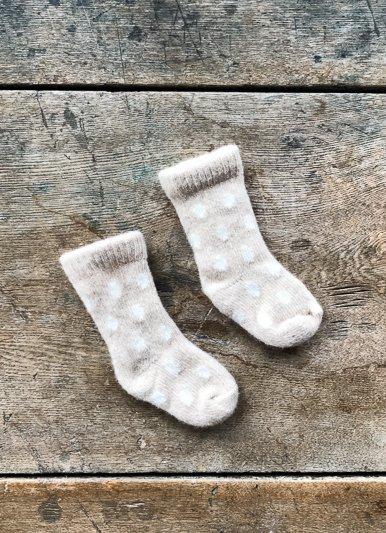 lisa b. Wool and Cashmere Baby Socks