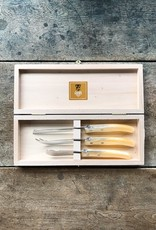 Claude Dozorme French Cheese Knife Set