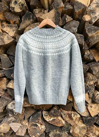 Scottish Fairisle Shetland Sweater - The Birch Store