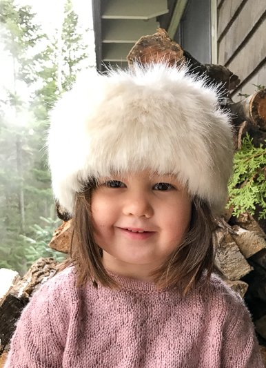 Helen Moore Child's Faux Fur  Huff