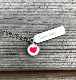 The Birch Store Adirondack Heart Necklace