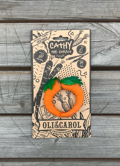 The Birch Store Cathy the Carrot Teether^
