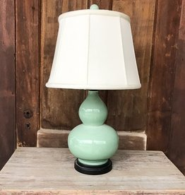 East Enterprises Celadon Gourd Lamp