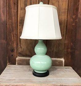 The Birch Store Celadon Gourd Lamp