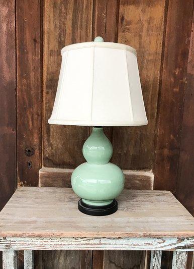 East Enterprises Celadon Gourd Lamp
