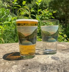 The Birch Store Lower Ausable Lake Pint Glass
