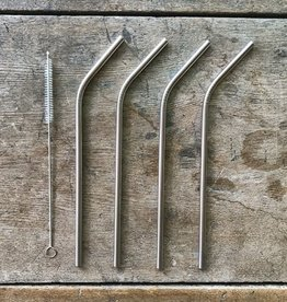 The Birch Store Stainless Steel Straws