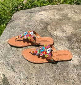Laid Back London Beaded Sandal