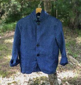 CP Shades Indigo Linen Jacket