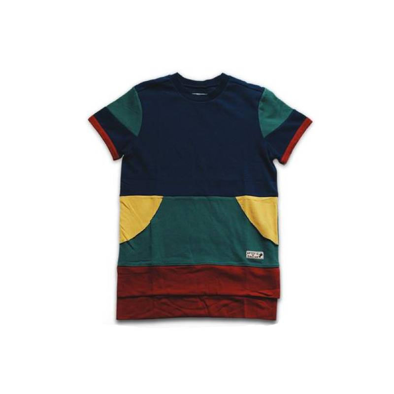 Entree Color Block S/S Crewneck