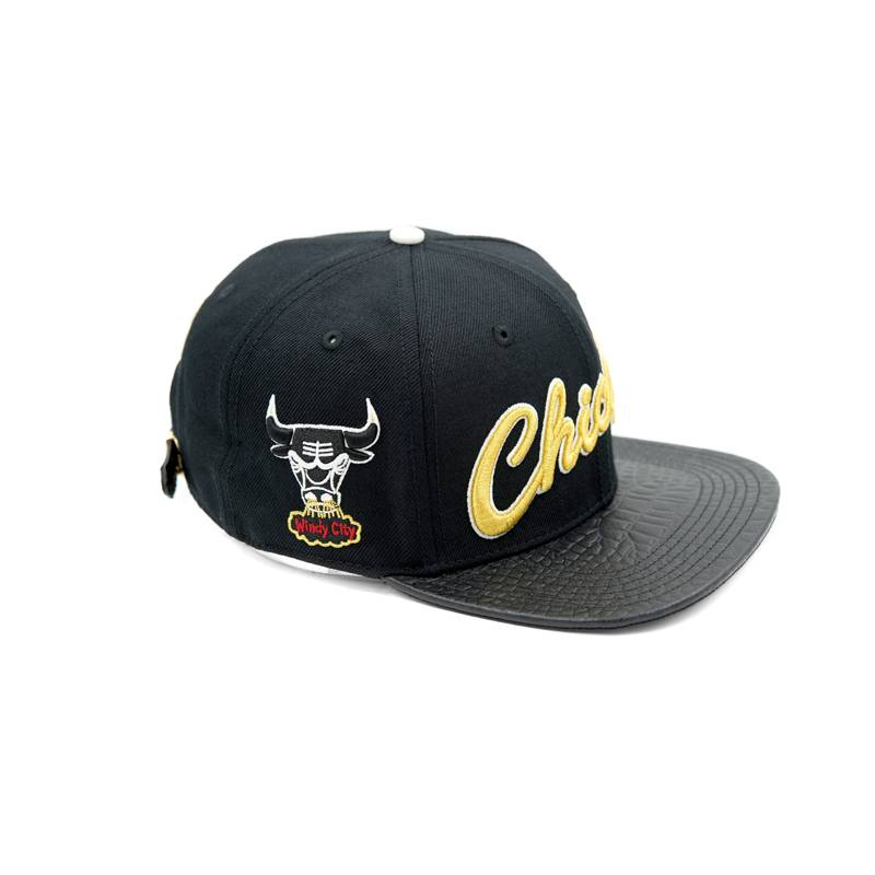 Pro Standard Bulls Retroscript /w gold pins