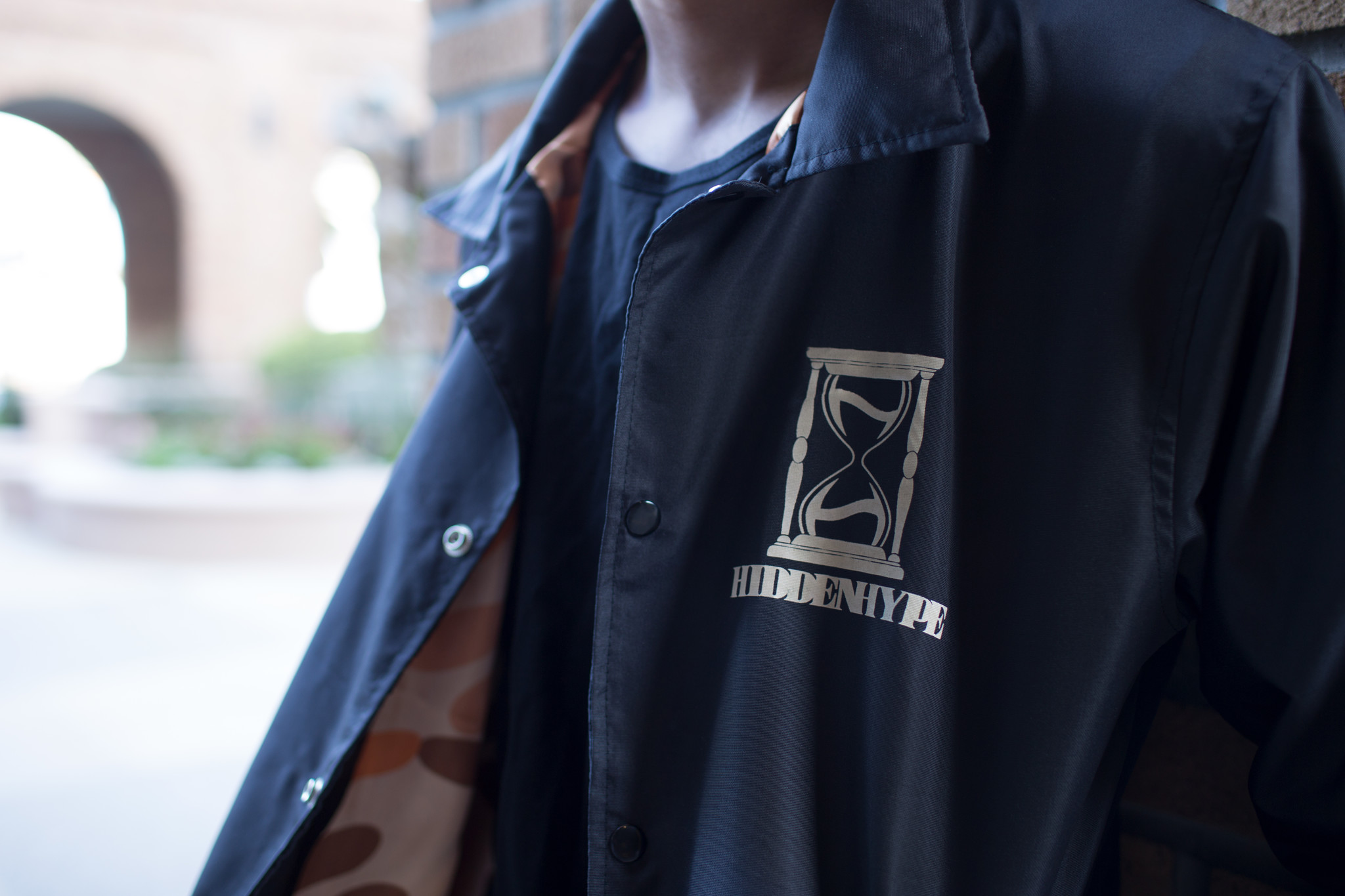 Hidden Hype Coach Jacket Giant Underdog Showbanga