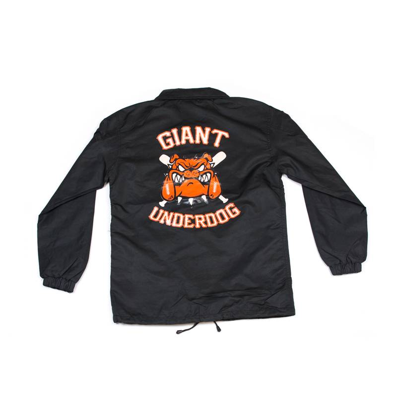 Hidden Hype Giant Underdog Coach Jacket