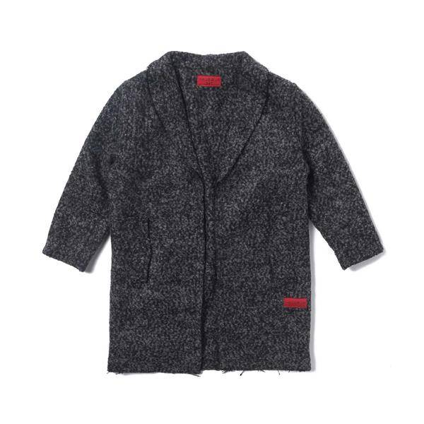 Haus Of Jr Raw Edge Peacoat