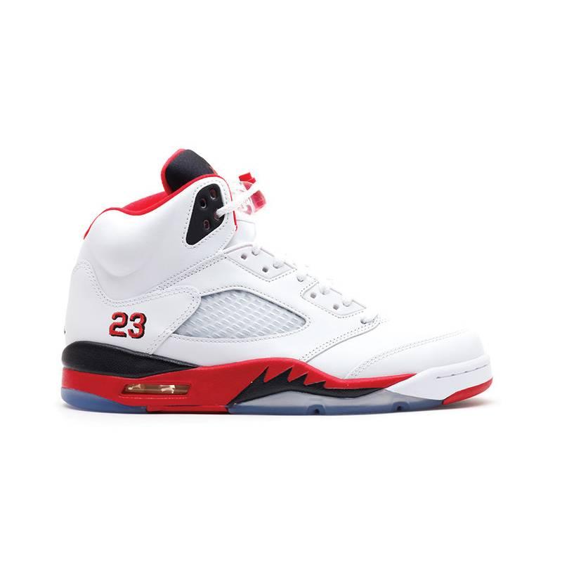 "Jordan Retro 5 ""Fire Red"""