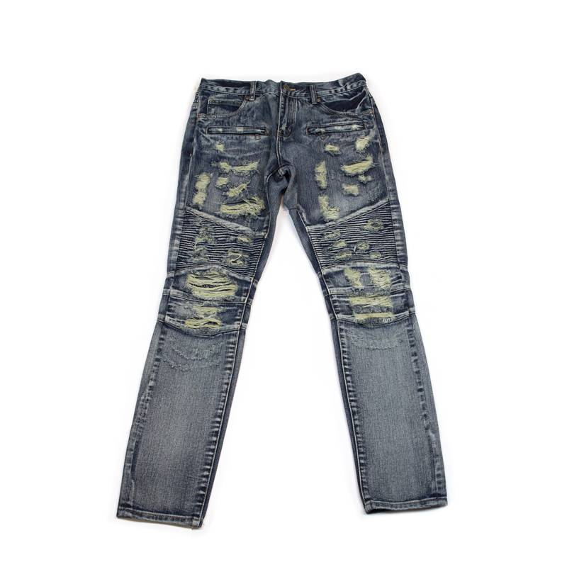 Embellish NYC Gypsy Biker Denim