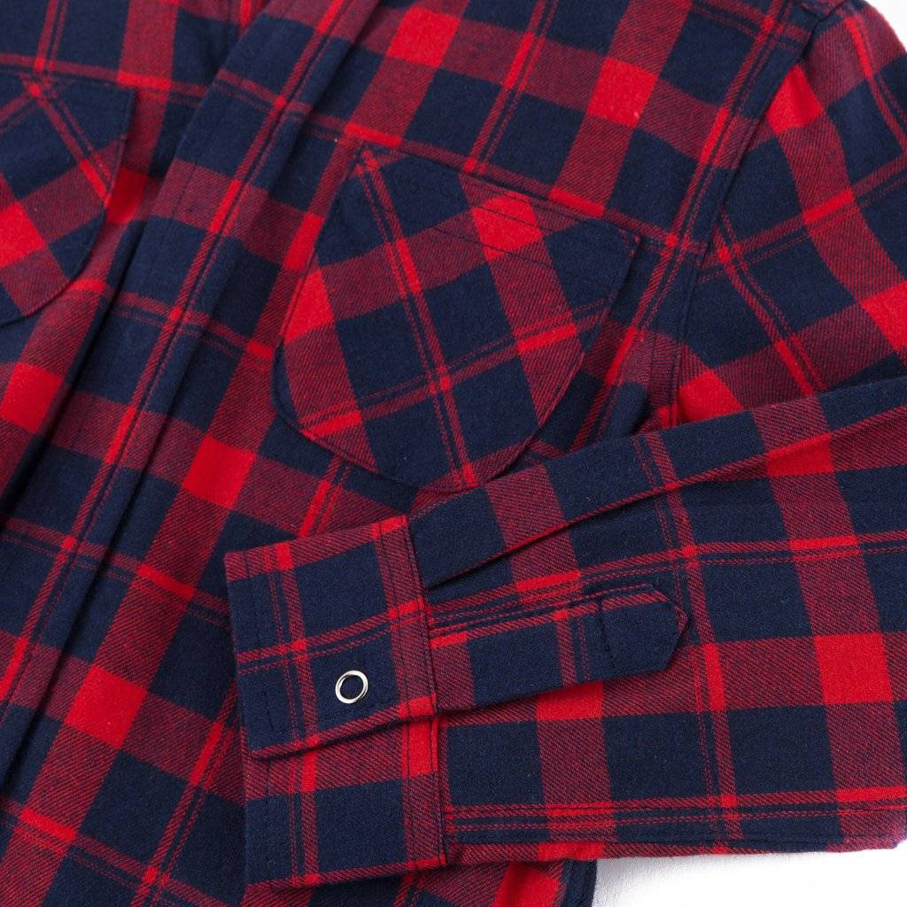 Haus Of Jr George Hooded Flannel