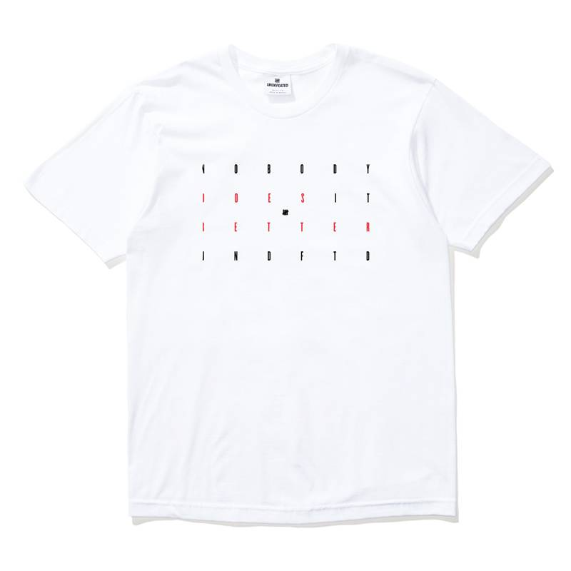 Undefeated Nobody Tee