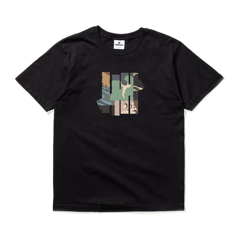 Undefeated Patchwork Strike Tee