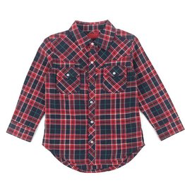 Haus Of Jr Aaden Plaid Western
