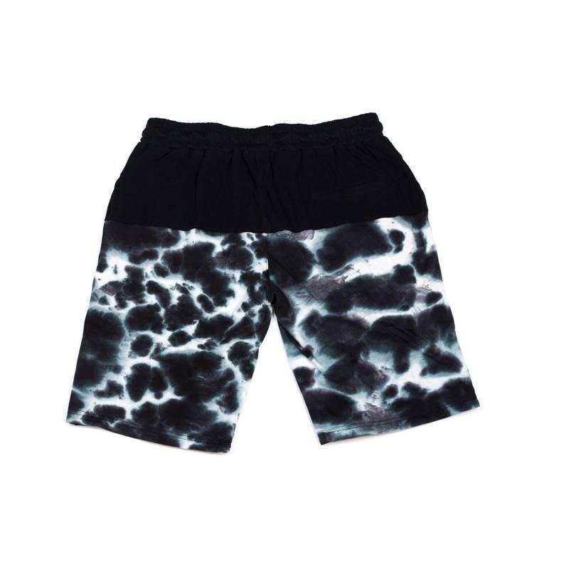 Cookies Acid Wash Cotton Knit Shorts