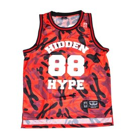 Hidden Hype H Camo Basketball Jersey