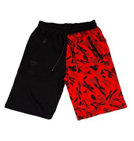 Hidden Hype H Camo Split Shorts