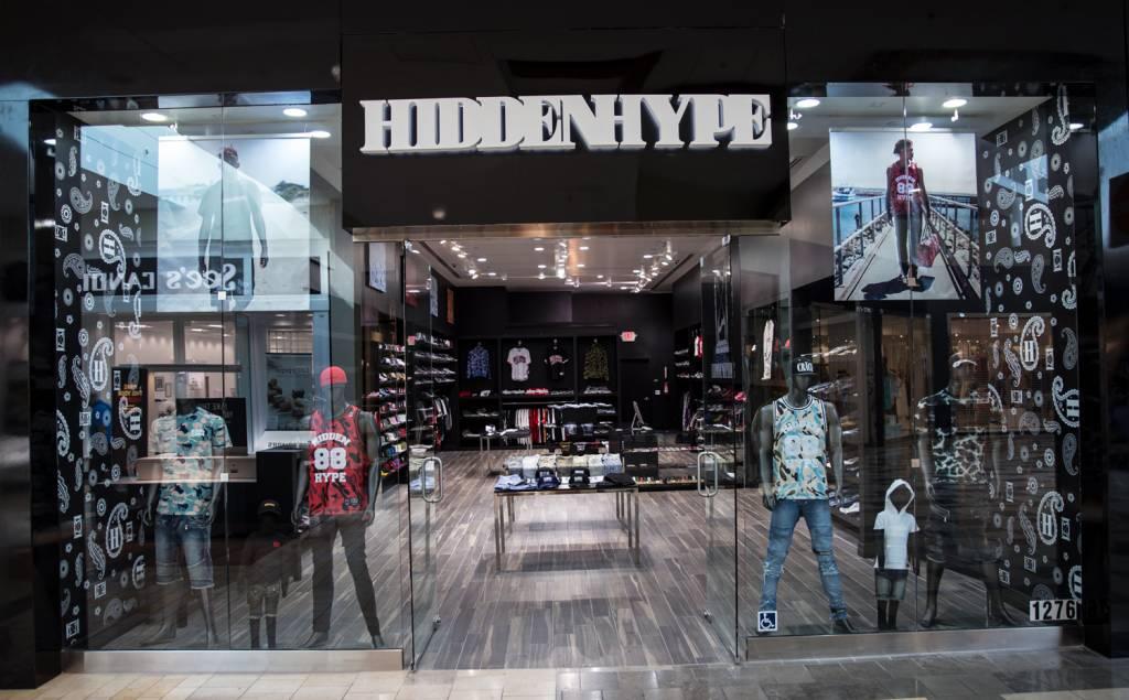 Hype clothing store locator