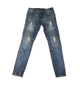Embellish NYC Lincoln biker Denim