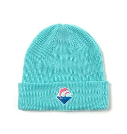 Pink Dolphin Waves Beanie