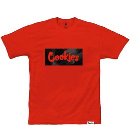Cookies Cookies Black Smoke Logo Box Tee