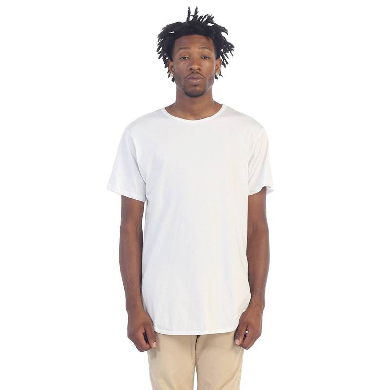 Epitome Elong Basic Side Zip Tee