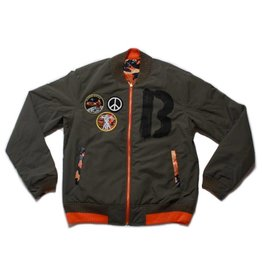 Billionaire Boys Club Billionaire Boys Club Four Leaf Reversible Jacket